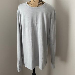 Men's Lululemon Light Grey Long-Sleeve Shirt
